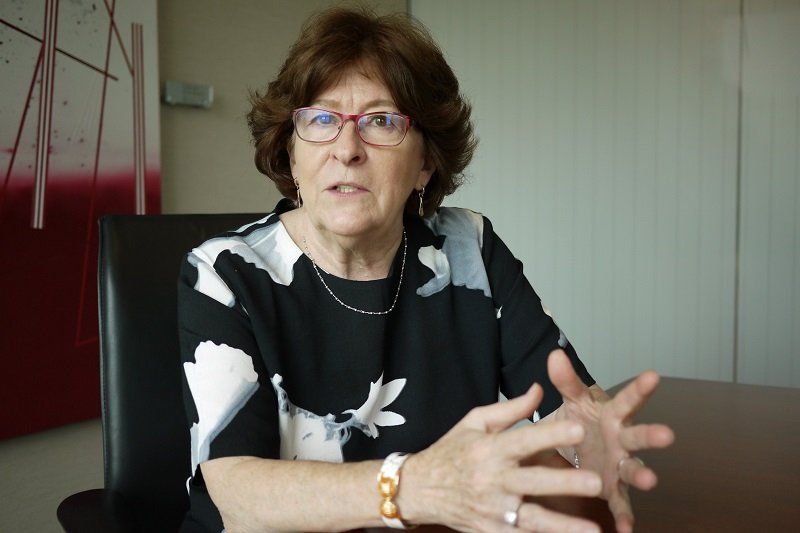 唐獎法治獎得獎人為加拿大籍的國際法學家路易絲.阿爾布爾(Louise Arbour)。(唐獎教育基金會提供)