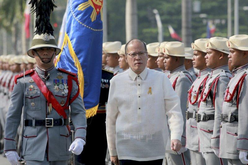 菲律賓總統艾奎諾三世(美聯社)