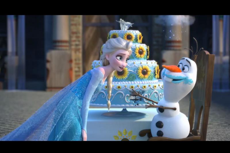 迪士尼動畫《冰雪奇緣》深受大朋友小朋友喜愛。(取自youtube)