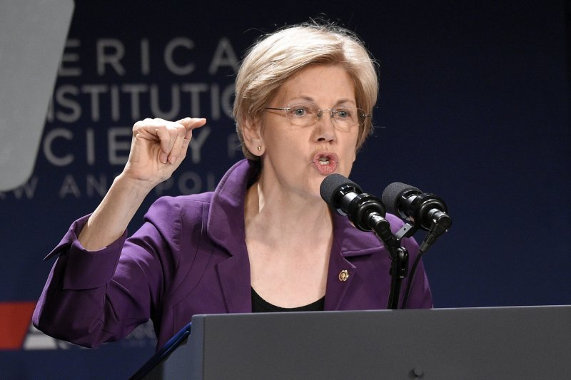 華倫(Elizabeth Warren)。(美聯社)