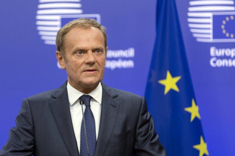 歐洲理事會主席、波蘭前總理圖斯克(Donald Tusk)(美聯社)