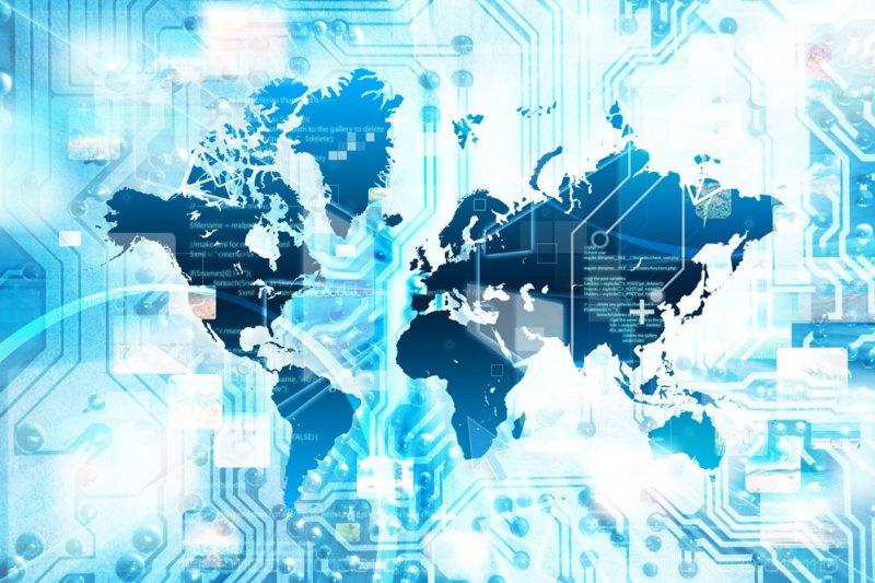 作者指出,今天,晶片的運用已經無處不在,深刻改變著我們的生活和工作。圖為半導體示意圖。(圖/wonderful@淘圖網)
