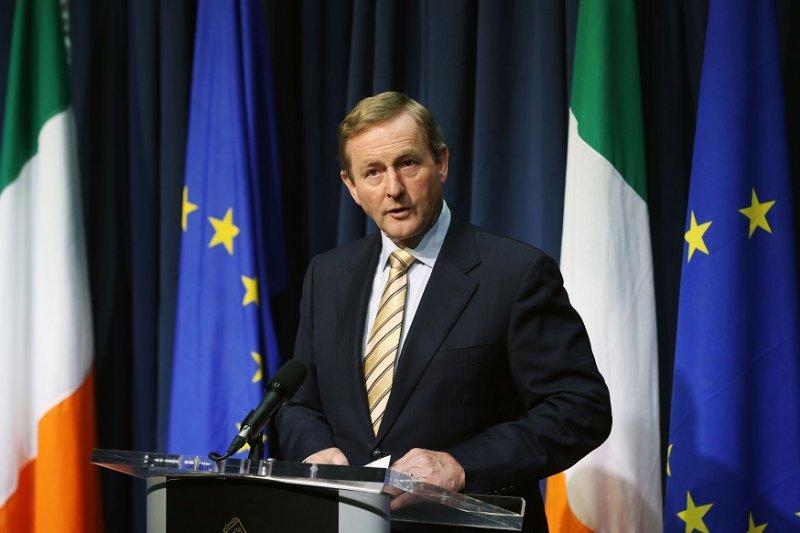 愛爾蘭總理肯尼(美聯社)