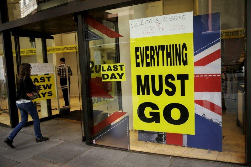 24日英國公投決定離開歐盟。(美聯社)