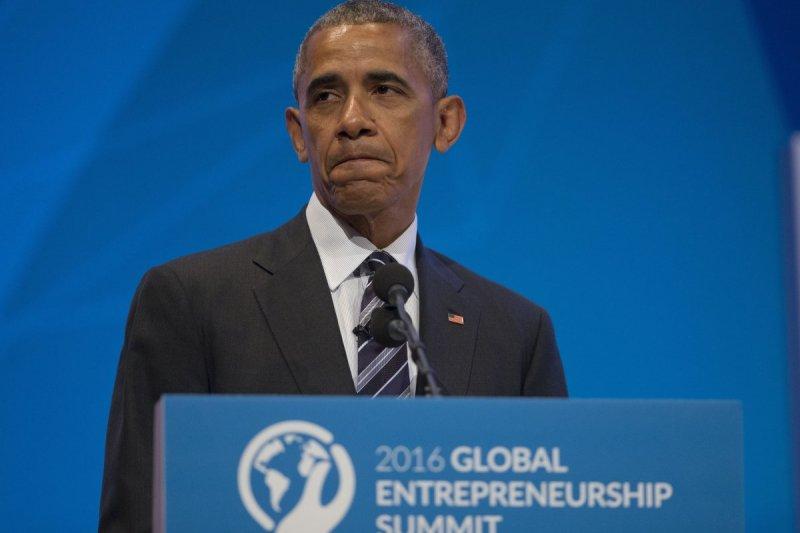 全球企業家會議中也發表他對英國脫歐的看法。(美聯社)