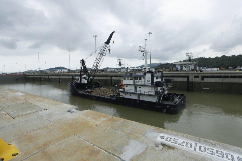 陸媒今天報導,巴拿馬公共工程部27日確認,巴拿馬運河第四橋工程案由中交建和中國港灣工程合資公司得標,合約價14.2億美元(約新台幣438億元)。(資料照,美聯社)