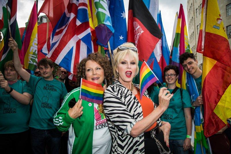 2016年英國倫敦同志遊行(美聯社)