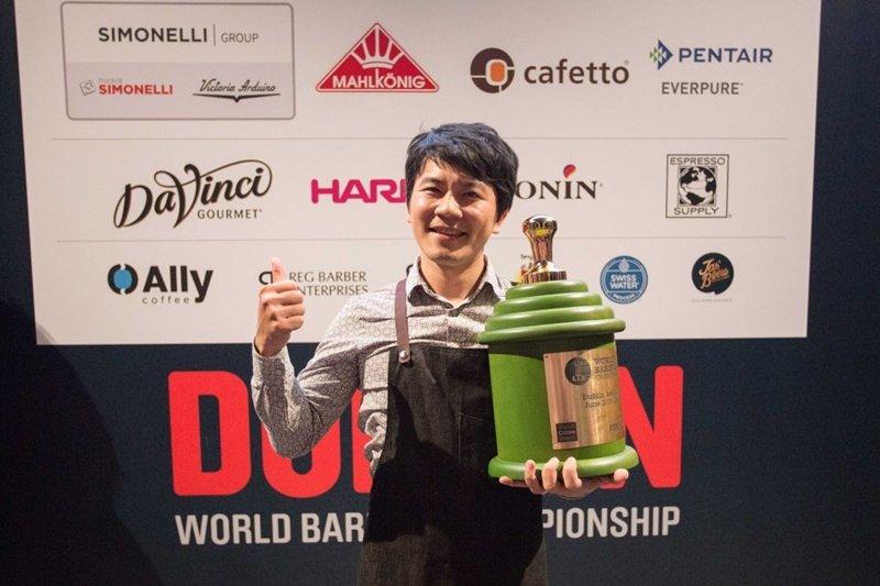 吳則霖參加世界咖啡大師比賽獲得冠軍,也刷新台灣選手史上最佳紀錄。(圖/取自worldcoffeeevents.org)