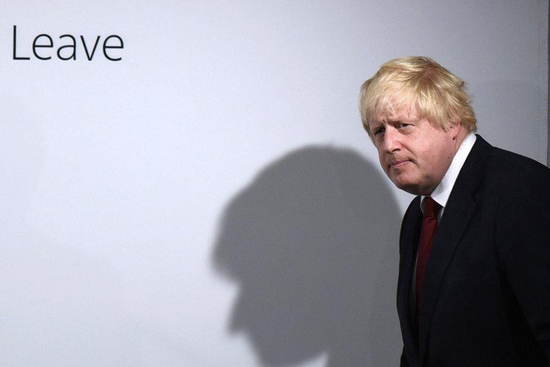 脫歐陣營主帥、前倫敦市長強森(Boris Johnson)(美聯社)