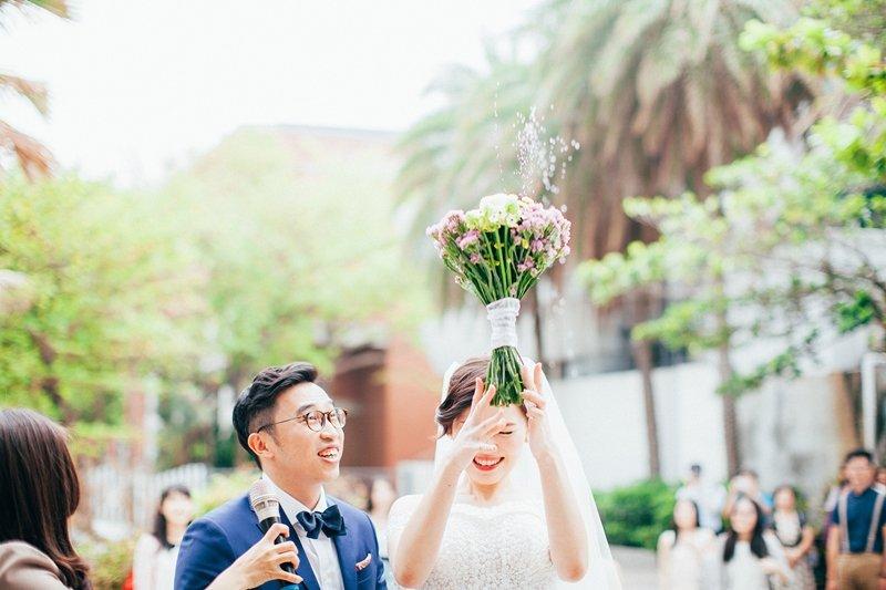 為了幫新人們記錄生命中的重要時刻,婚禮攝影師只有攝影技巧好可能還不太夠。(圖/Pino提供)