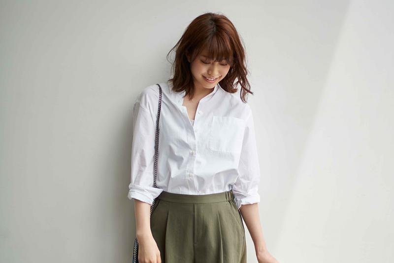 萬無一失的潔白,是白襯衫品味的根本(圖/Uniqlo@facebook)