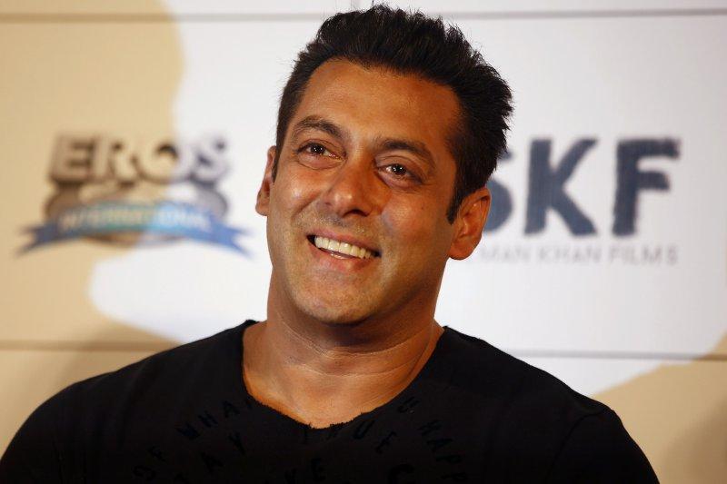 印度寶萊塢(Bollywood)「3K天王」之一的沙爾曼汗(Salman Khan)(美聯社)
