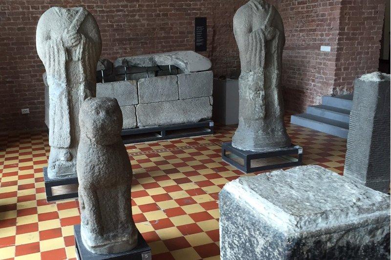 曾經屬於大清版圖,伯力的博物館建築是歐式的,但出土文物卻是東方的。(陳耀昌提供)