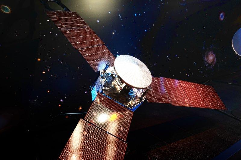 NASA木星探測太空船「朱諾號」(Juno)(美聯社)