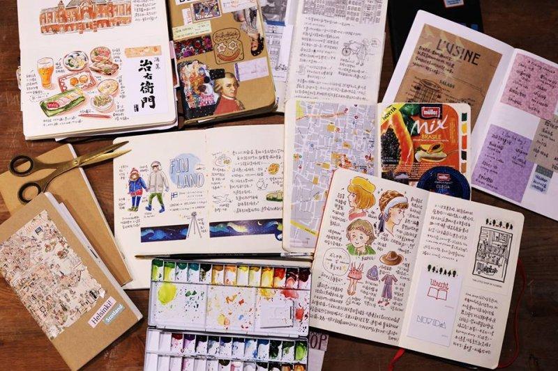 插畫家壘摳,從插畫日記到個人接案,再到工作室共同創作,她堅信只要腳踏實地就會成功。(圖/Hello, I am Reiko / 你好我是壘摳 Facebook粉絲專頁)