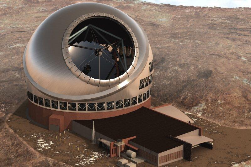 30公尺望遠鏡(Thirty Meter Telescope,TMT)(TMT Observatory Corporation)