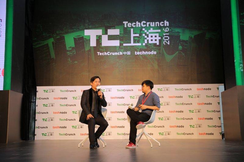 黃舒駿受邀出席TechCrunch國際創新峰會,與國內外頂尖企業家、創業者和投資人分享了公司經驗,以及線上教育如何引領知識共享革命。(圖/TutorABC提供)