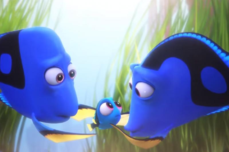 海底總動員相隔13年終於出續集,台灣7月7日上映!(取自youtube)