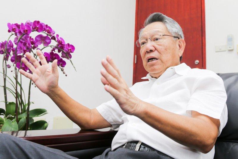 20160707-專訪國民黨副主席.詹啟賢.(陳明仁攝)