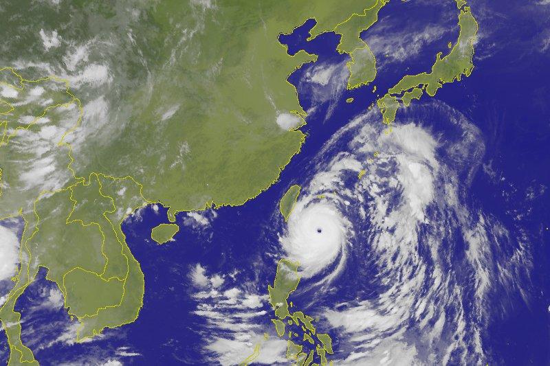 強烈颱風「尼伯特」(CWB)