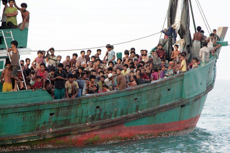 翁山蘇姬執政100日,緬甸羅興亞人遭迫害情況並未改善(美聯社)