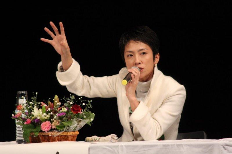 蓮舫當選日本民進黨魁。(JitiJiti@Wikipedia / CC BY 3.0)
