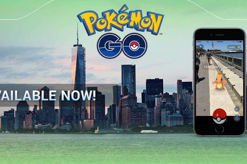 《去吧,神奇寶貝》在美國上架後發生一連串怪事。(Pokémon GO官方網站)