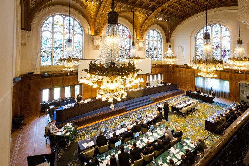 南海仲裁案「菲律賓訴中國仲裁案」,荷蘭海牙常設仲裁法院(美聯社)