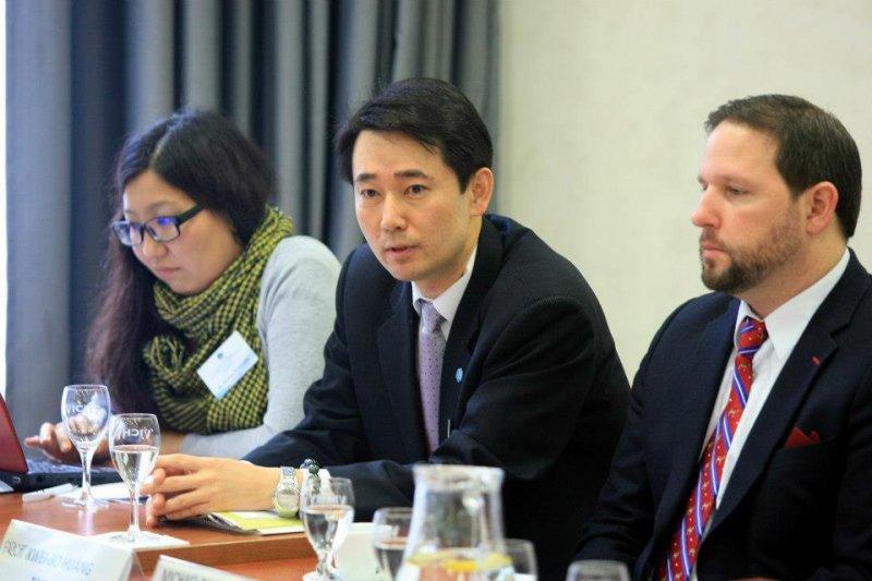 政治大學國際事務學院外交政策研究中心主任黃奎博。(取自黃奎博臉書)