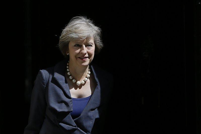 英國新任首相梅伊(Theresa May)(美聯社)