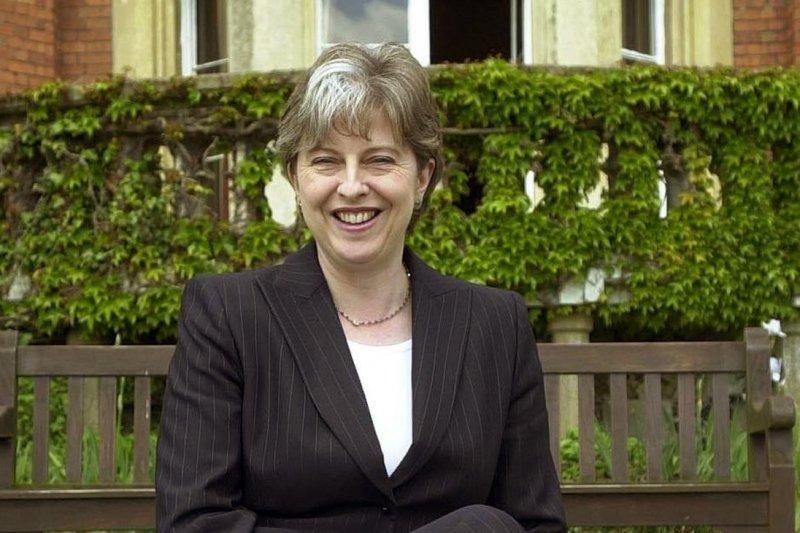 2003年的梅伊(Theresa May)(美聯社)