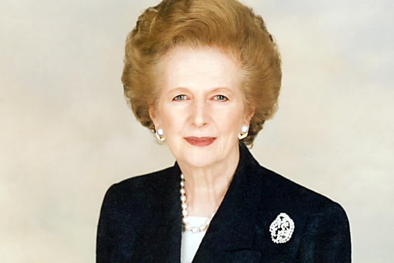 英國前首相「鐵娘子」柴契爾夫人啟動大規模的民營化,但卻產生不少後遺症。(Chris Collins@Wikipedia / CC BY-SA 3.0)
