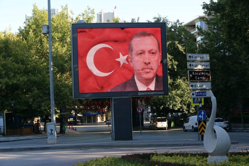 土耳其政變落幕,但總統艾爾多安的下一步,牽動土耳其局勢變化。(美聯社)