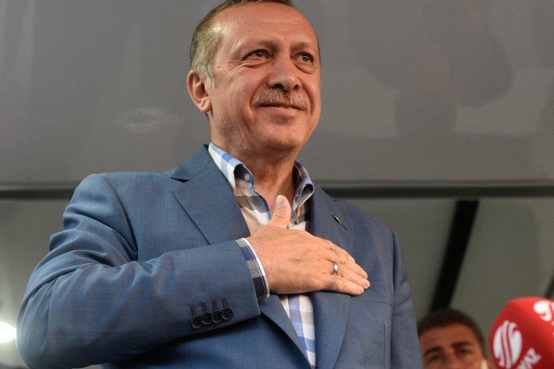 土耳其總統艾爾多安再次要求美國,把葛蘭引渡回土耳其。(美聯社)
