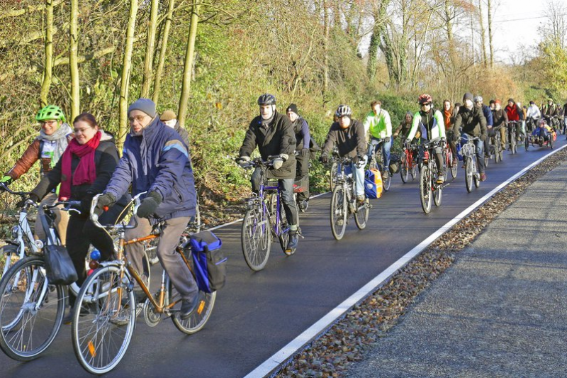 「魯爾區單車公路」啟用路段(魯爾地區協會官網)