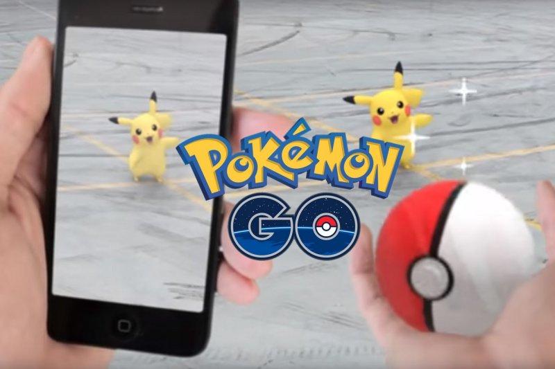 日本任天堂手機遊戲「精靈寶可夢GO」(Pokémon GO)風靡全球(取自YouTube)