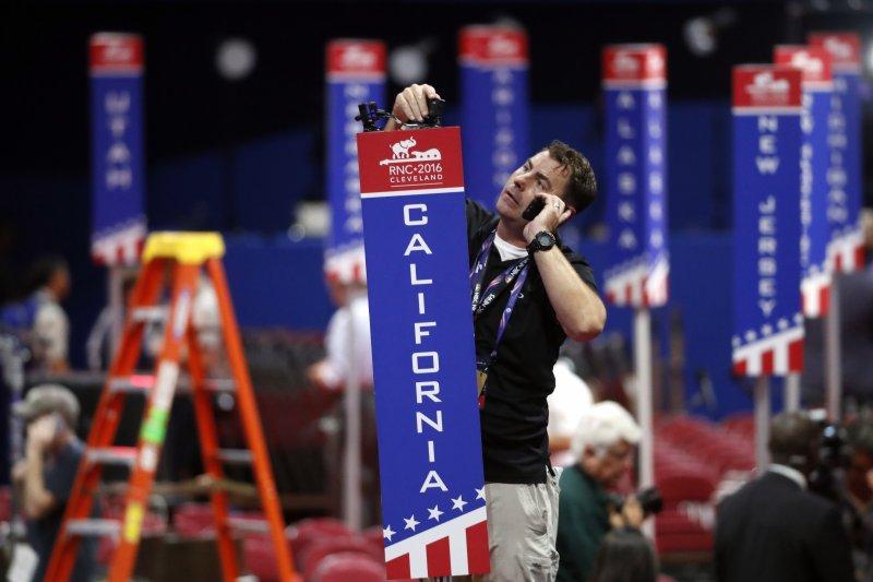 美國共和黨全國大會(RNC)18日在克利夫蘭揭幕(美聯社)