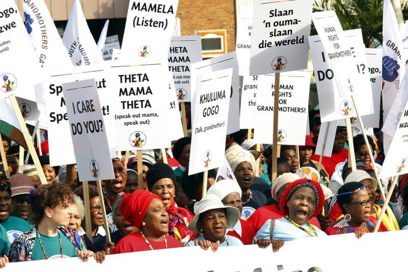 第21屆國際愛滋病會議18日在南非德爾班(Durban)舉行(美聯社)