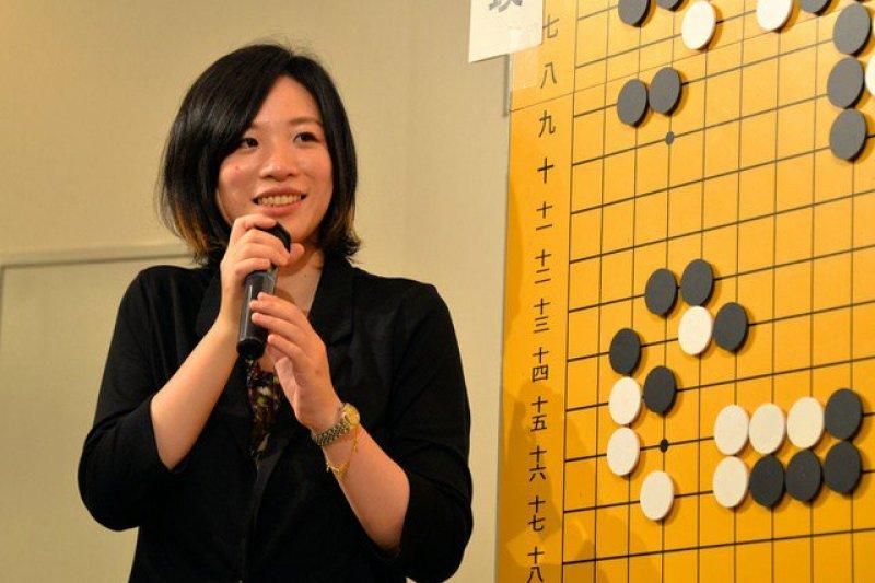 台灣旅日女棋手謝依旻小學畢業後便遠渡日本,現在26歲的他已創下多項日本圍棋界的壯舉。(圖/Twitter)