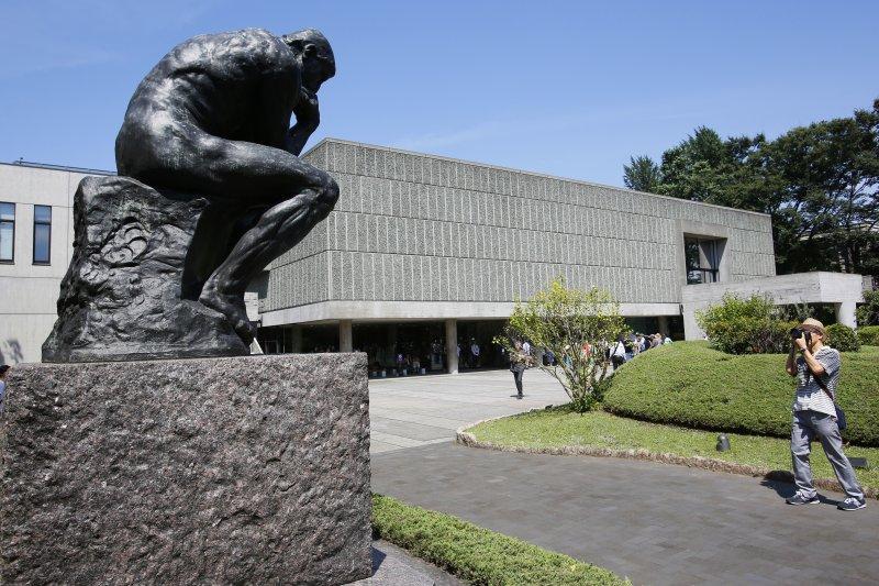 柯比意作品,東京國立四洋美術館(美聯社)
