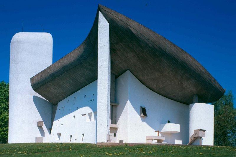 柯比意作品,Chapelle notre-Dame du Haut(UNESCO/WHC)