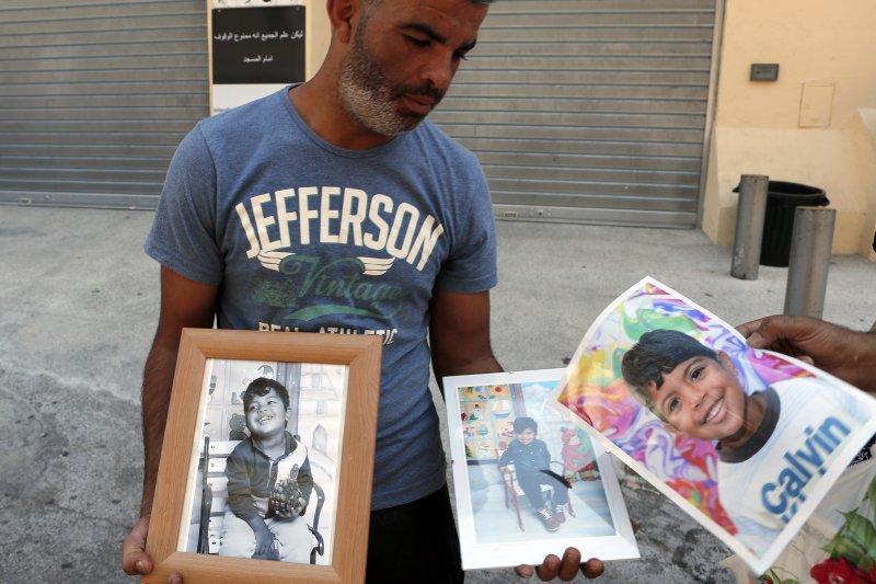 法國尼斯卡車恐怖攻擊,死難者家屬的悼念(美聯社)