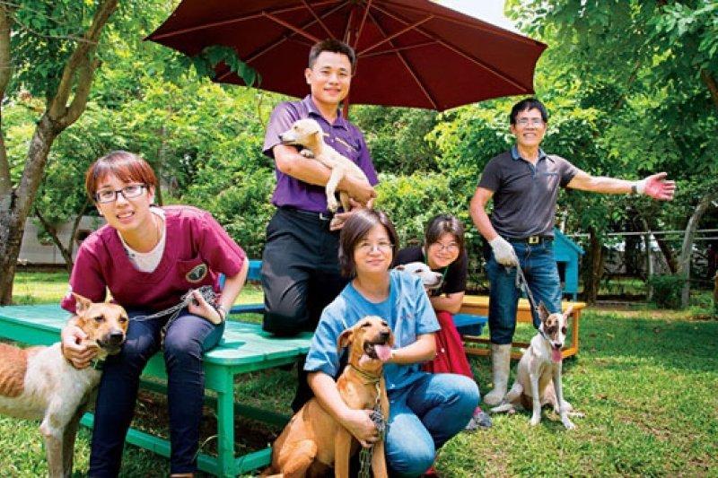 台南動保團隊領先其他縣市,去年零撲殺,翻轉流浪動物問題城市形象。(攝影者.曾千倚)