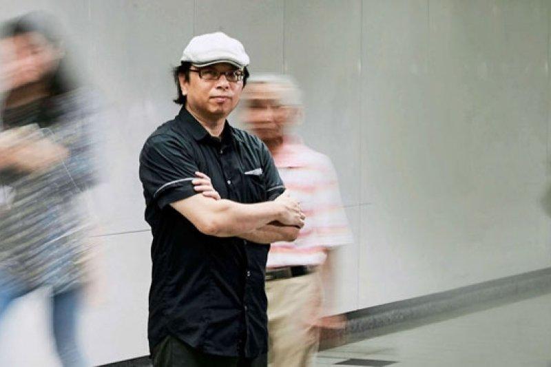 黃心健,曾任江蕙擔任演唱會之影音特效製作,現為政大數位內容學程主任。(攝影者.石吉弘)