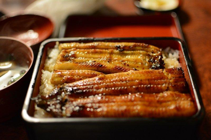 每到土用之丑日,肥美的鰻魚飯就成為桌上嘉賓(圖/gumigasuki@pixabay)