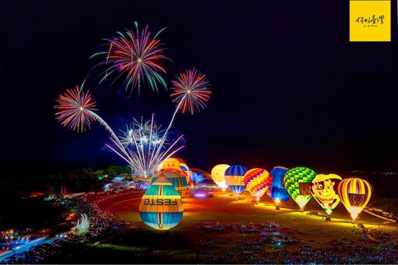 當熱氣球冉冉升空時,除了欣賞遼闊的美景,不妨低頭探尋一下歷史的痕跡。(圖/你好臺灣)