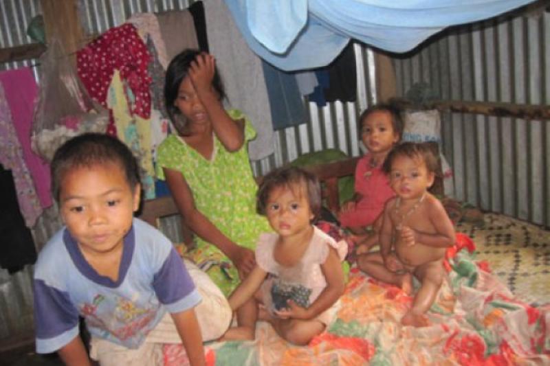 越南中部達克隆山區土壤貧瘠、交通不便,導致當地民眾收入極低,是越南最貧困地區之一。(至善基金會提供)