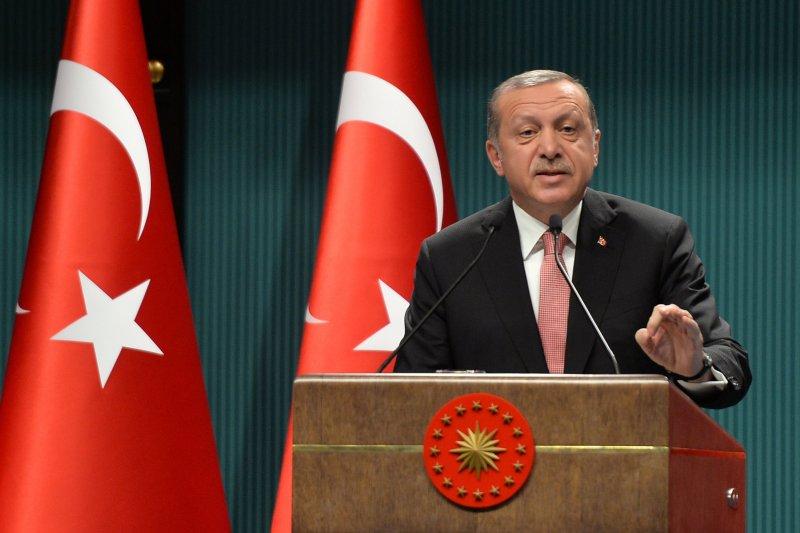 土國總統艾爾多安宣布全國進入緊急狀態三個月。(美聯社)