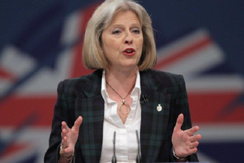 剛上任的英國首相 Theresa May 。(圖片由www.vocfm.co.za 提供)