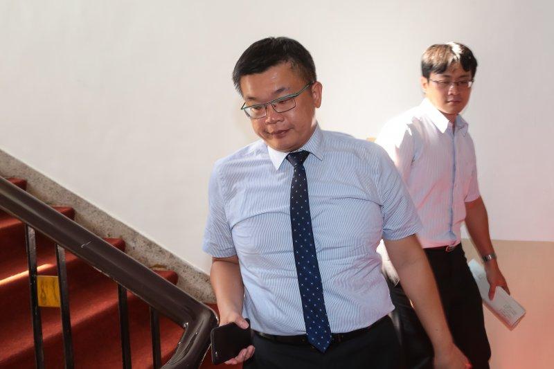 立法院副院長蔡其昌22日出席不當黨產處理條例草案協商。(顏麟宇攝)